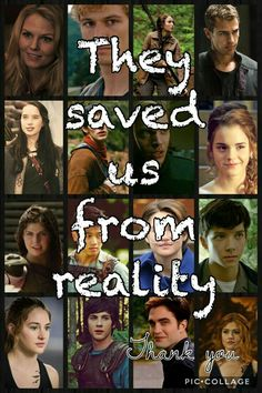 Why is Edward in there? Twilight doesn't deserve the honor of being in a picture with book heroes! Why is Harry potter not in the picture? Film Meme, Movie Quotes, Book Quotes, Hunger Games, Heros Film, Image Triste, Citations Film, Fandom Quotes, Fandom Crossover