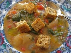 I love soup, I love Love Soup and I love its author, Anna Thomas. Her book…