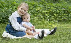 Lief: prinses Estelle en prins Oscar samen op een kaart