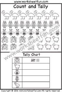 Graph & Tally -1 Worksheet | Printable Worksheets | Pinterest ...