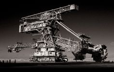Huge mining machine in Ferropolis Germany