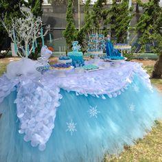 Frozen Dessert Table by Bizzie Bee Creations by Iris