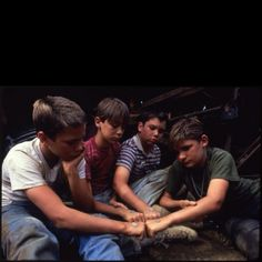 Stand By Me, still one of my all time favorite movies.  Timeless.