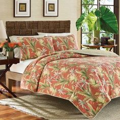 Tommy Bahama Birds of Paradise Quilt | Overstock.com Shopping - The Best Deals on Quilts