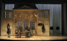 The Way of the World. Shakespeare Theatre Company. Scenic design by Wilson Chin.