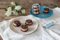 Double Choc Cookie Dough Sandwiches - Rezeptidee Bahlsen Sweets on Streets Tour 2016 - Kreativfieber