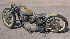Bobber rat bike