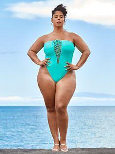Crop Swim Top, Tie Dye Crop Top, Tie Dye Maxi, Bandana Bikini, Off Shoulder Romper, Trendy Plus Size Fashion, Fashion To Figure, Swim Skirt, Plus Size Swimwear