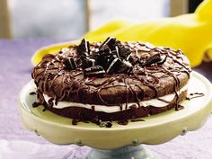 Chocolate Sandwich Cookie Cake
