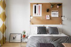 Moodboard w sypialni - Sypialnia - Styl Nowoczesny - Aranżacja i wystrój wnętrz - Dom z pomysłem