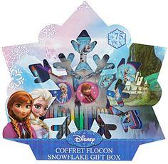Frozen Disney snowflake gift set