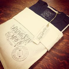 Blank T-Shirt Three-Pack...Navy Natural and Charcoal....the perfect gift for any guy's wardrobe - rising sun jeans