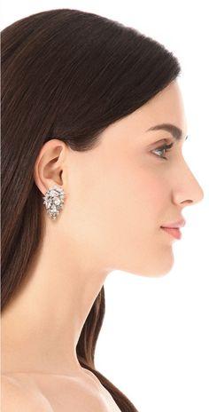 Kenneth Jay Lane Waterfall Earrings | SHOPBOP