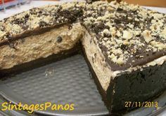 Τάρτα oreo, με φυστικοβούτυρο και σοκολάτα Oreo, Food And Drink, Sweets, Desserts, Tailgate Desserts, Deserts, Good Stocking Stuffers, Candy, Goodies