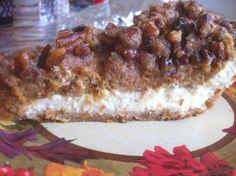 Pumpkin Pecan Cheesecake Pie