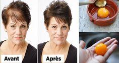 Une recette maison magique pour une reprecette pour les cheveux ousse de cheveux rapide! Et avec seulement 3 ingrédients!