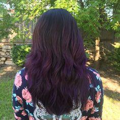 Healthy Purple Hair