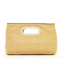 MK Berkley Clutch/ Spring 2012: $188  Go see this in person; it is so cute.