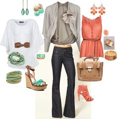 Spring fashion, created by toyaqp on Polyvore
