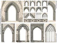 Gothic Arches, How do I create them please?