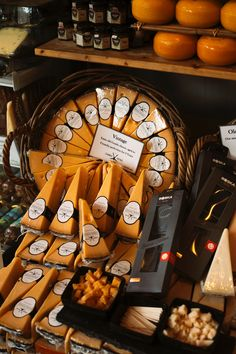 Amsterdam is a city for cheese lovers. All over it, there are specialized shops, such as Amsterdam Cheese Company and Old Amsterdam Cheese Store, where you can find all types of cheese. You can shop for good pieces of cheese at Schiphol Airport, in the Centraal Station and in most supermarkets. #cheese #cheeselover #food #foodgasm #tapas #Dutchcheese #Dutchfood #netherlands #visitEurope Old Amsterdam Cheese, Typical Dutch Food, Fig Bread, Dutch Cheese, Cheese Store, Cheese Maker, Types Of Cheese, Best Cheese, Dutch Recipes