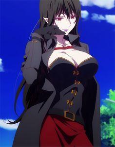 Enigma (Musaigen no phantom world) Thicc Anime, Chica Anime Manga, Anime Comics, Kawaii Anime, Anime Girl Hot, Manga Girl, Anime Art Girl, Fantasy Characters, Female Characters