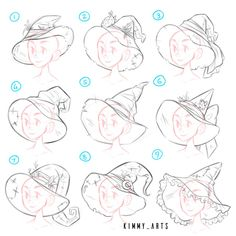 Kimmys art — These are various character exploration pieces...