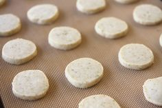 baked lime meltaway cookies