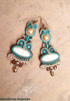 'Varanasi' soutache earrings by MagiaSoutache on DeviantArt