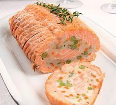 Новогодний рецепт - Рыбный рулет «К празднику»
