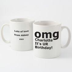 OMG Mug - Personalised