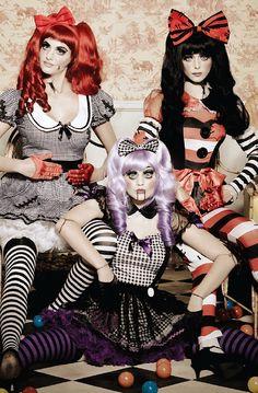 Rag Doll Creepy Doll Costume from Leg Avenue inset 3