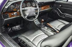 Black Interior with
