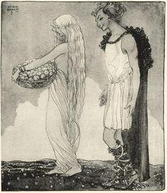 Loki and Idun, 1911 - John Bauer