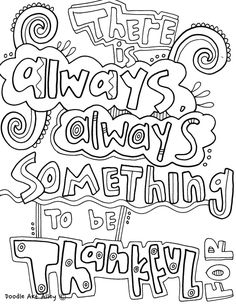 Quote Coloring Pages From Doodle Art Alley