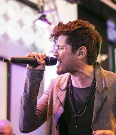 Danny is so passionate, so alive - I'd even call him beautiful - when he is singing. You should be more than blind not to see, how much of his soul lays in the words comming out of his mouth. He's amazing <3