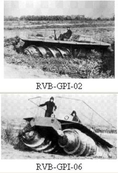 Crazy/Cool Russian Screwdriven Vehicles:  'I figure the plan was to make their enemy either scared shitless or paralyzed by awe of Russian mechanized genius/madness. Or both.'