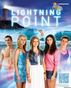 Lightning Point is an Australian television teen drama set in the modern day with fantasy elements. It was filmed on location at the Gold Coast in 2011.
