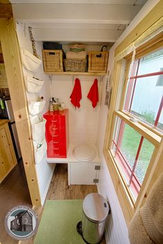 Interior of The Tiny Tack House. www.chrisandmalissa.com Photography by Christopher Tack www.tackphoto.com
