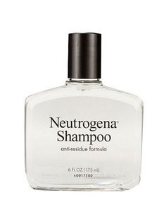 Neutrogena Shampoo. Use it once a week to remove residue. Makes my hair feel great!