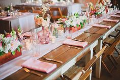 #tablescapes Photography by markbrooke.com Planning + Design by joydevivre.net Floral Design by nicosb.com  Read more - http://www.stylemepretty.com/2013/04/10/solvang-wedding-from-joy-de-vivre-event-design-boutique/