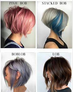 Edgy Short Hair, Short Hair With Layers, Short Hair Cuts, Short Hair Styles, Messy Bob Hairstyles, Bob Haircuts, Hair Cutting Techniques, Hair Today Gone Tomorrow, Hair Dos