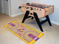 Los Angeles Lakers Court Runner Mat. $24.99 Only.