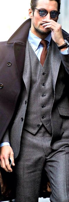 Men's suit style #fashion #suit #cool