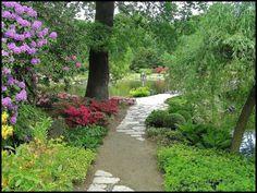 ogród Partial Shade Plants, Sidewalk, Shades, Side Walkway, Walkway, Sunnies, Eye Shadows, Draping, Walkways