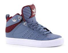 Adidas freemont mid blauwe hoge sneakers