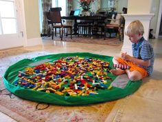 新米ママさんは知らない『LEGOに収納ケースは不要!』色別?テーブル?No No♡自由に遊ばせるべし