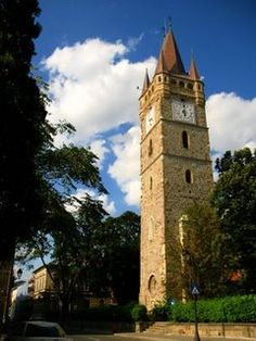 Turnul lui Stefan - Baia Mare - Romania Homeland, Notre Dame, Beautiful Places, Building, Pictures, Travel, Spaces, Traditional, History