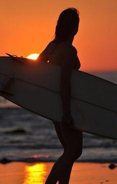 Evening Surf...