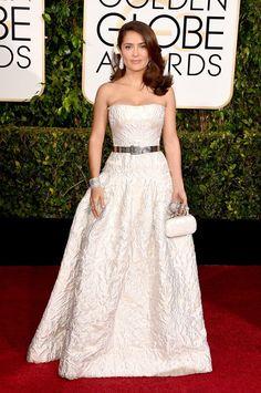 WORST DRESSED Golden Globes 2015 - Fashion Review | Fashion WhippedFashion Whipped #selmahayek